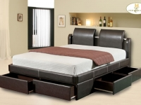 posh_bed_frame_leather_cass